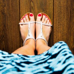 domowy pedicure - blog Shefoot